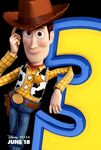Toy Story 3 - Woody - Poster