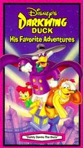 Darkly Dawns the Duck VHS