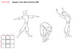 Eugene Twist Bend Stretch concept