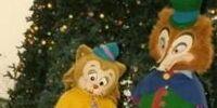 J. Worthington Foulfellow and Gideon Costumes Through the Years