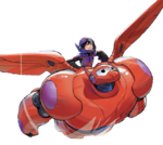 Hiro and Baymax The Guardian Hero Render
