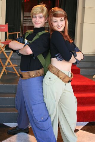 File:Kim and Ron Posing Together at WDW.jpg