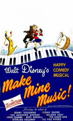 Make mine music poster