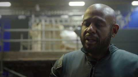 """Rogue One """"Saw Gererra"""" On Set Interview - Forest Whitaker"""