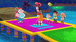 Jake&crew with Hook&Smee-Pirate Putt-Putt
