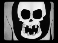 Spooky Skeleton Face