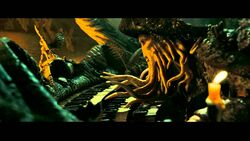 Davy Jones Plays His Organ
