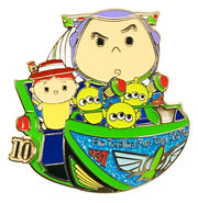HKDL Tsum Tsum Trading Day Pin 14