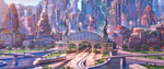 Train Station Zootopia