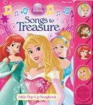 Disney Princess Songs to Treasure Book