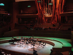 WD concert hall stage