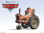 Cars Characters 32 Tractor