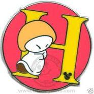 H Hop Pin