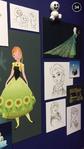 Frozen Fever Concept Art D23 2015