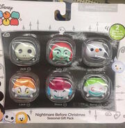 The Nightmare Before Christmas Tsum Tsum Vinyl Set