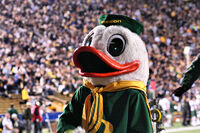 Oregon Duck Mascot 2