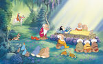 Disney Princess Snow White's Story Illustraition 14