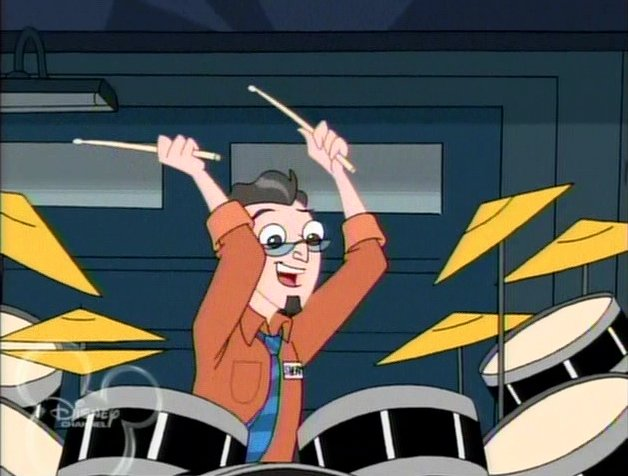 File:Sherman on the drums.jpg