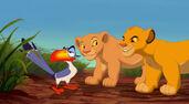Cub Simba Nala & Zazu