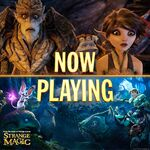 Strange Magic Now Playing