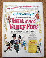 Fun and Fancy Free movie poster 1947