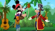 Mickey Goofy&Captain Goof-Beard-Mickey Mouse Clubhouse Mickey's Pirate Adventure