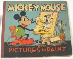 Mickey mouse pictures to paint