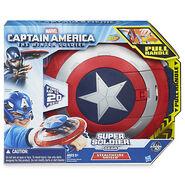 Captain America Stealthfire Shield in Box
