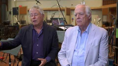 Beauty and the Beast Composer & Songwriter Official Movie Interview - Alan Menken & Tim Rice