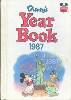 Disney yearbook 1987