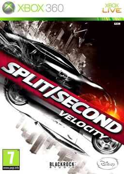 Split Second Velocity EU Cover