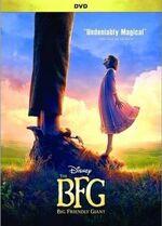 The BFG DVD cover
