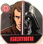 Star Wars - Zodiac Mystery Collection - Gemini Anakin Skywalker Darth Vader ONLY