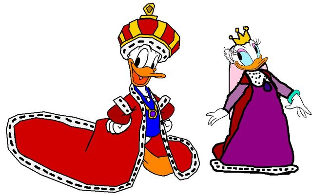 File:King Donald and Queen Daisy.jpg