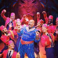 Genie on Aladdin the Broadway Musical 1