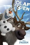Olaf and sven poster