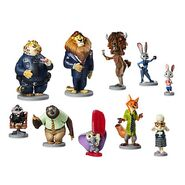 Zootopia figure set