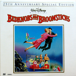 Bedknobs and Broomsticks Laserdisc