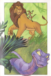 Simba Timon and Joka