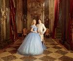 Cinderella (2015) - Promotional Image - Cinderella and Prince Charming