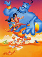 Aladdin, Jasmine and Genie