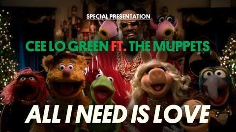 "CeeLo Green ""All I Need Is Love (ft"