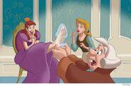 Anastasia Fits the slipper