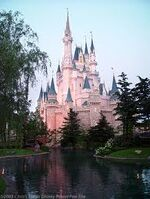 Cinderella's Castle Side View