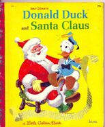 Donald duck and santa claus lgb