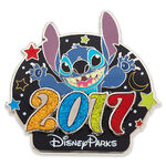 Stitch Pin - Disney Parks 2017