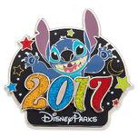 Stitch Pin - Disney Parks 2017