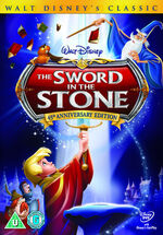 The Sword in the Stone 2008 UK DVD