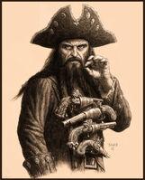 Blackbeard McShane Potc Ost Concept Art I