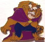Beast pose pin